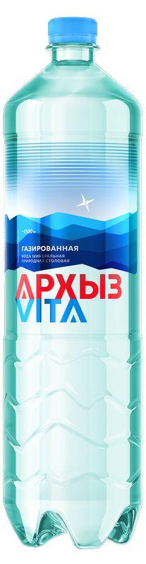 Архыз Вода минеральная газированная 1.5 л Архыз недорого