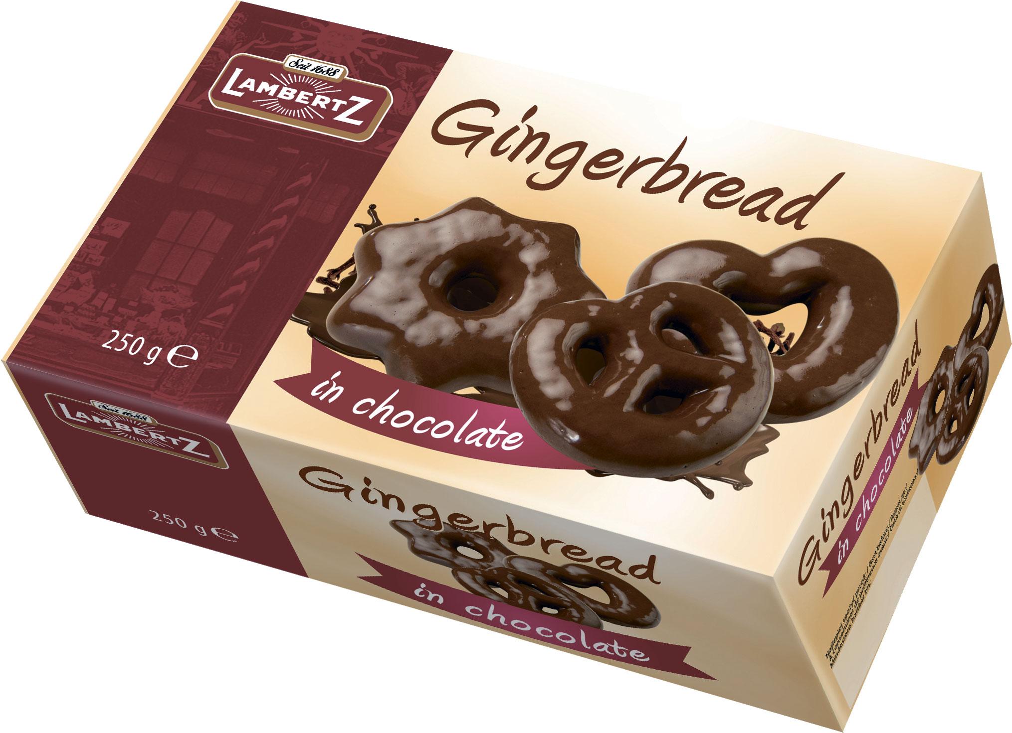 Пряники в шоколаде Lambertz