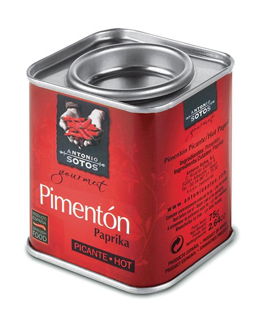 Перец Паприка красный молотый сладкий Antonio Sotos Gourmet