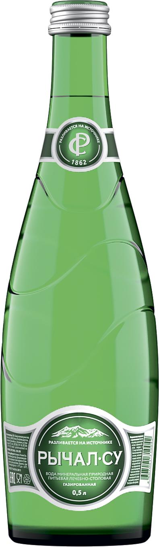 Рычал Су Вода минеральная газированная Рычал-су недорого