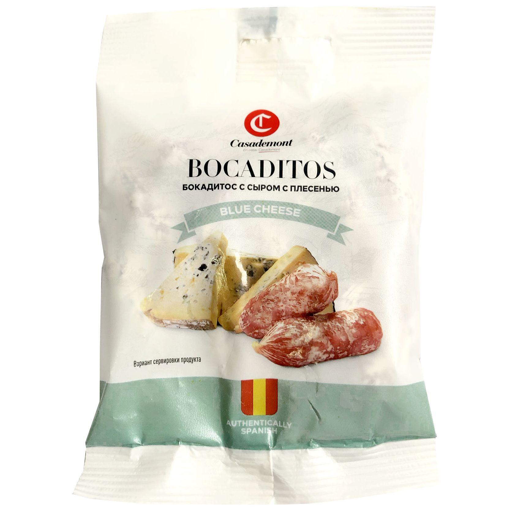 Колбаски с/в Бокадитос с сыром с плесенью 60 г. Casademont