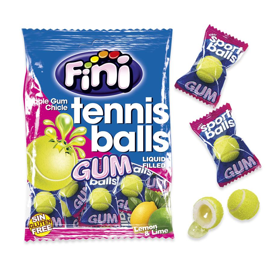 Жевательная резинка Теннисные мячики Fini