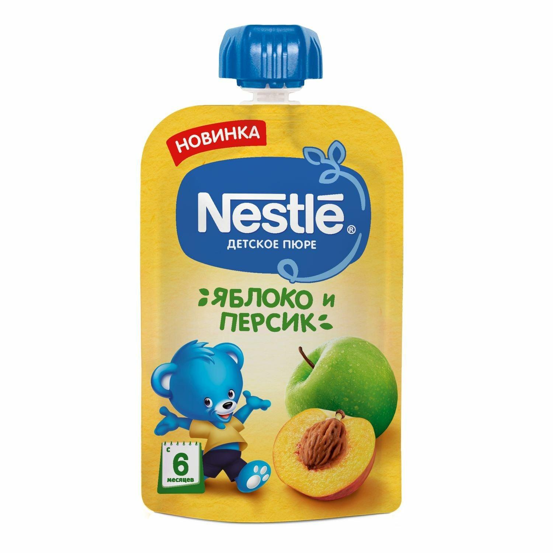 Фото - Nestle Пюре Nestle яблоко персик, 90г marion nestle pet food politics