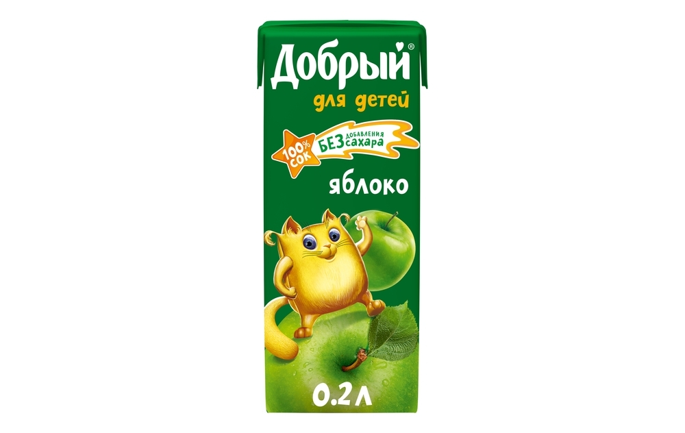 Фото - Добрый Сок Добрый Яблочный добрый сок мультифрукт добрый