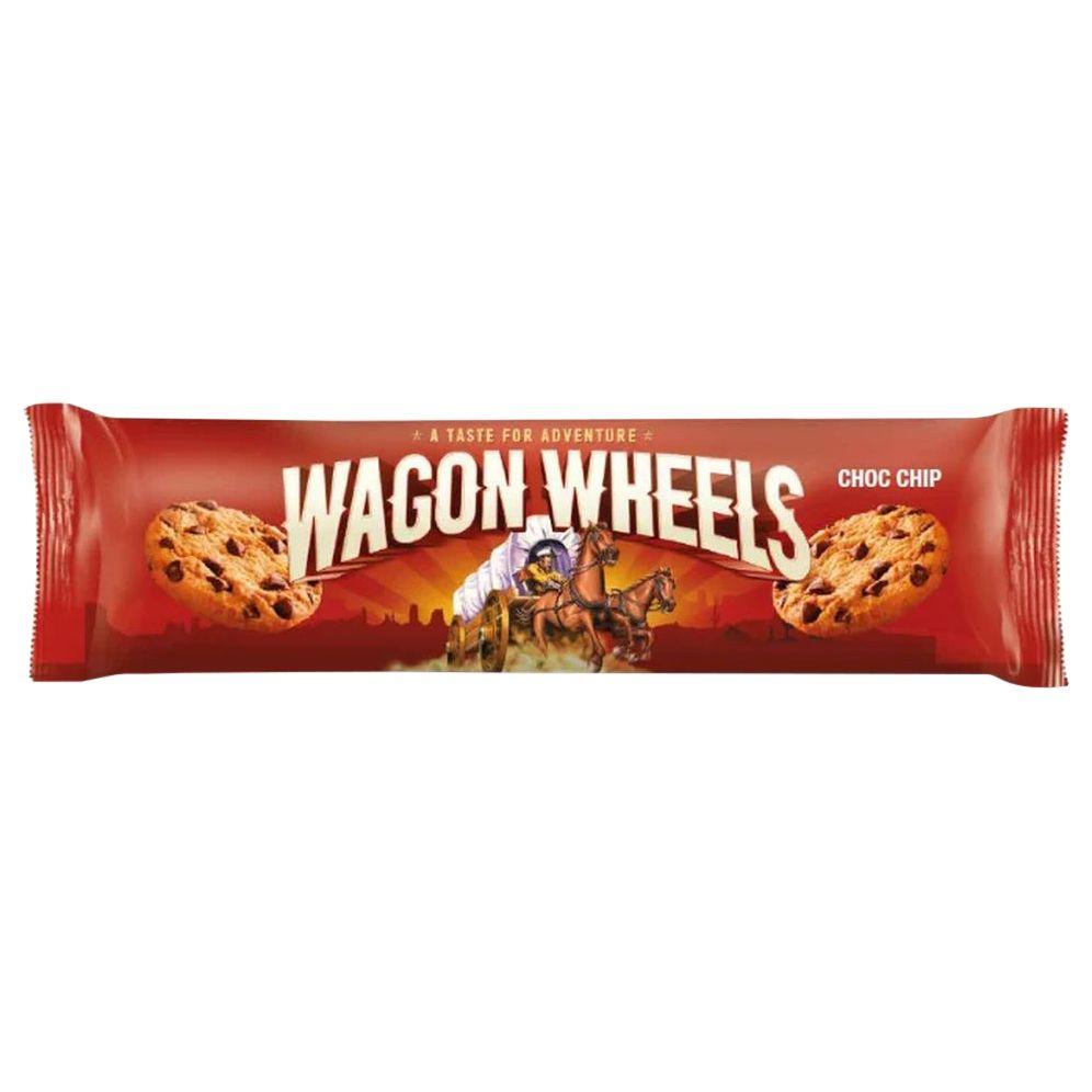 Печенье с кусочками шоколада 136г Wagon Wheels Соединенное Королевство