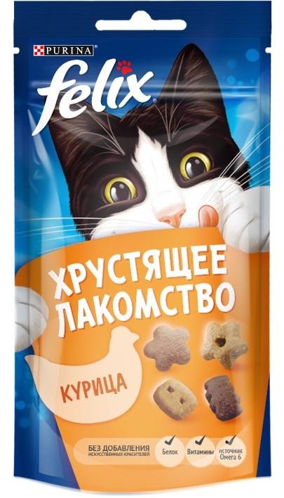 Felix Лакомство для кошек курица Felix рубашка felix hardy felix hardy fe029emdkmr8