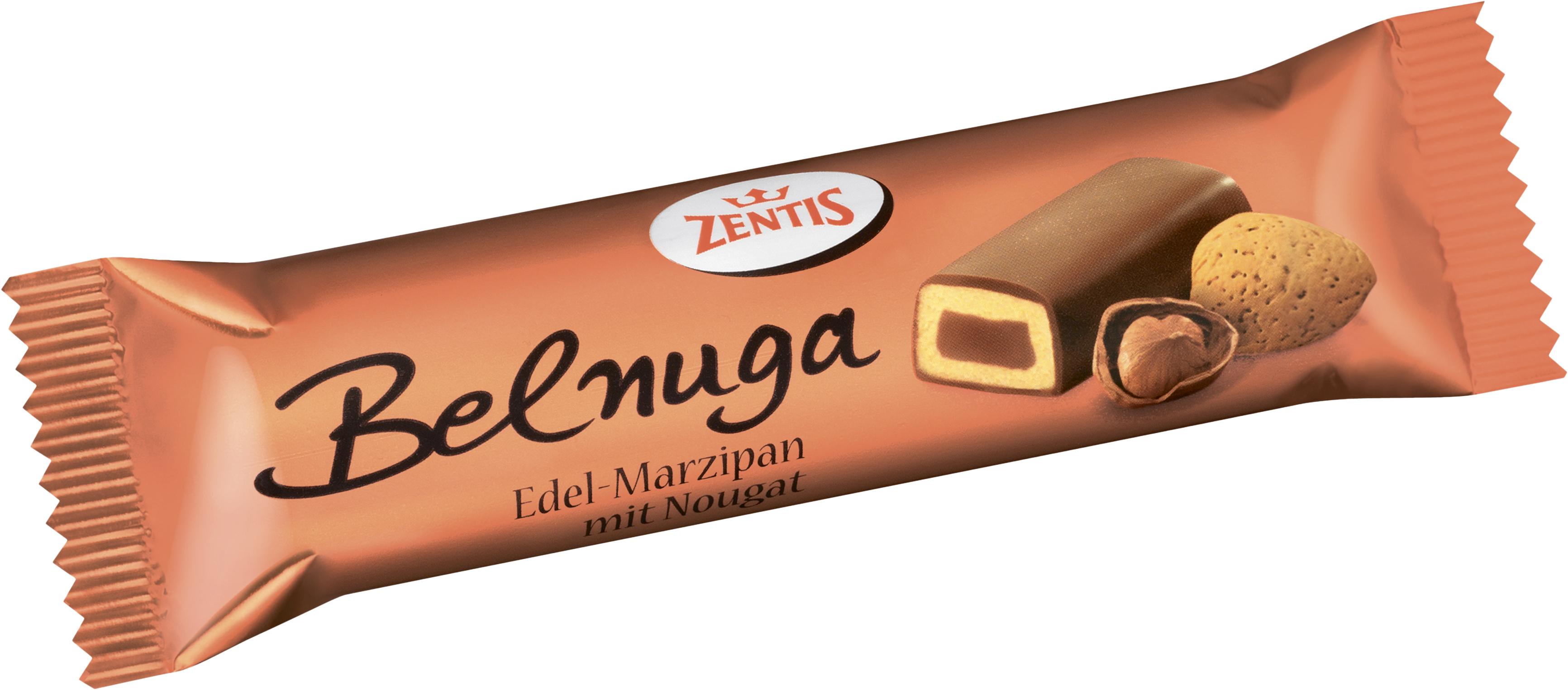 Батончик марципановый Belnuga Zentis