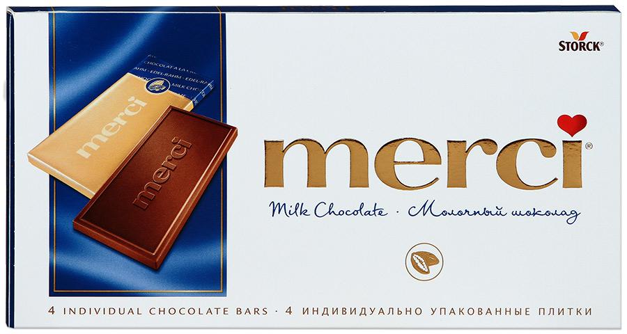 Фото - Мерси Шоколад молочный MERCI merci водолазки