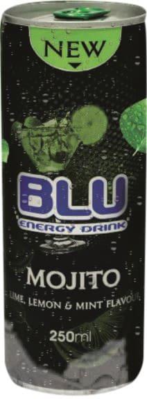 Напиток Regular энергетический безалкогольный BLU