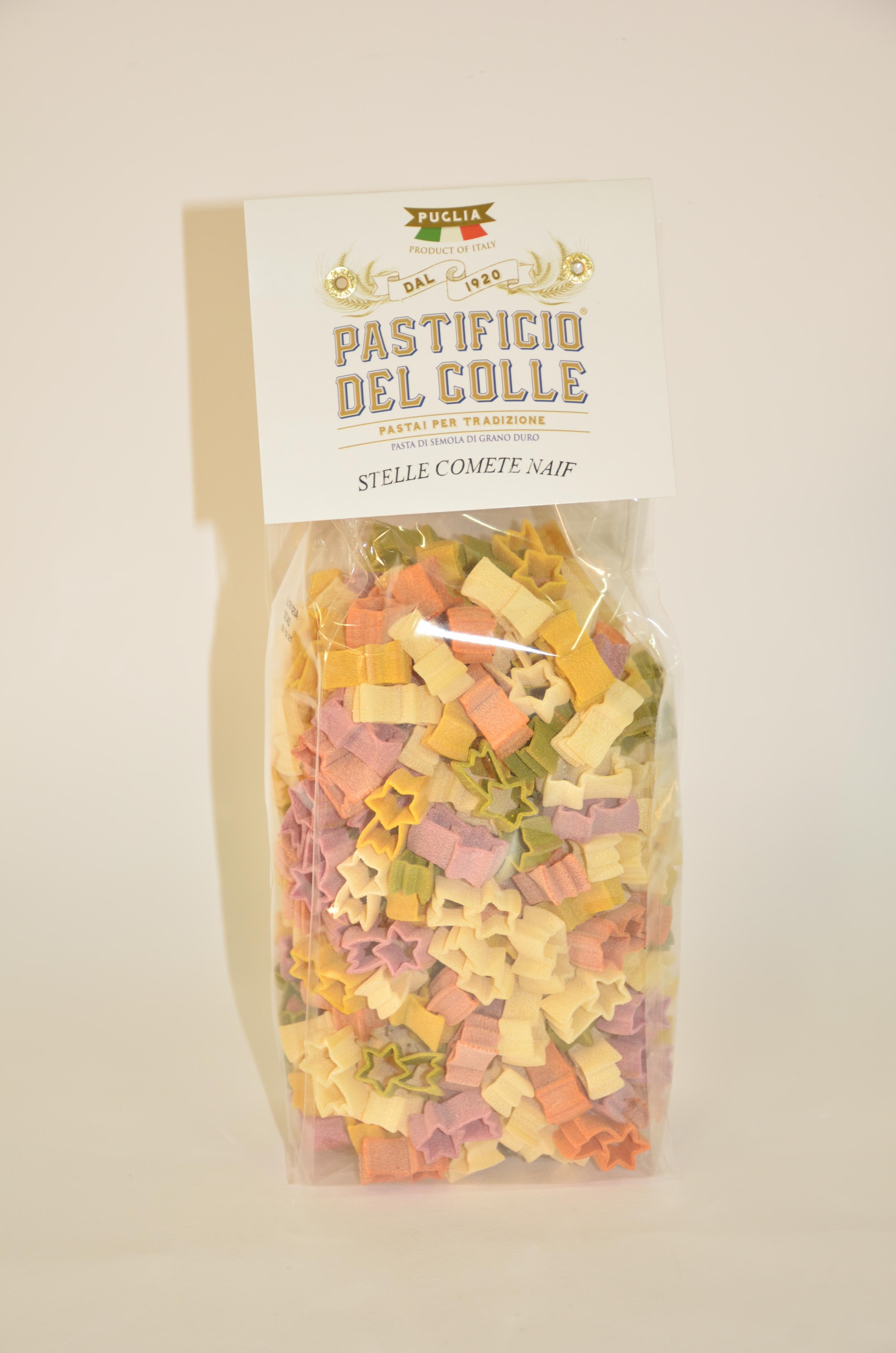 Макароны из твердых сортов пшеницы Кометы Pastificio del Colle