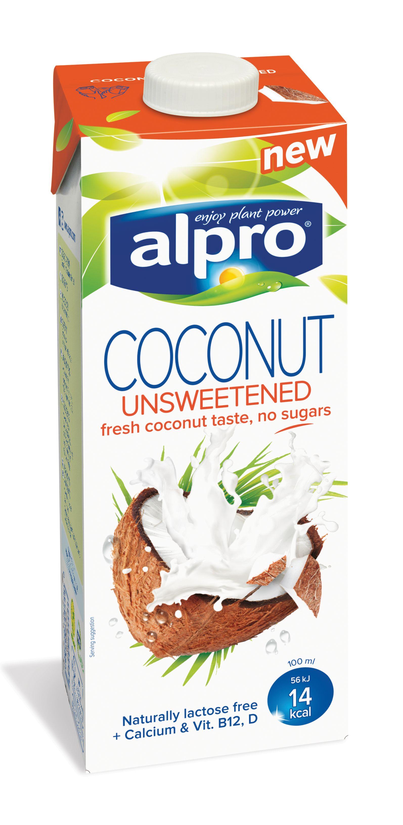 Напиток кокосовый без сахара обог.кальц.и вит.ALPRO 1л