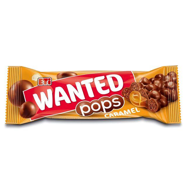 Батончик Wanted Pops Карамель 28 г ETI