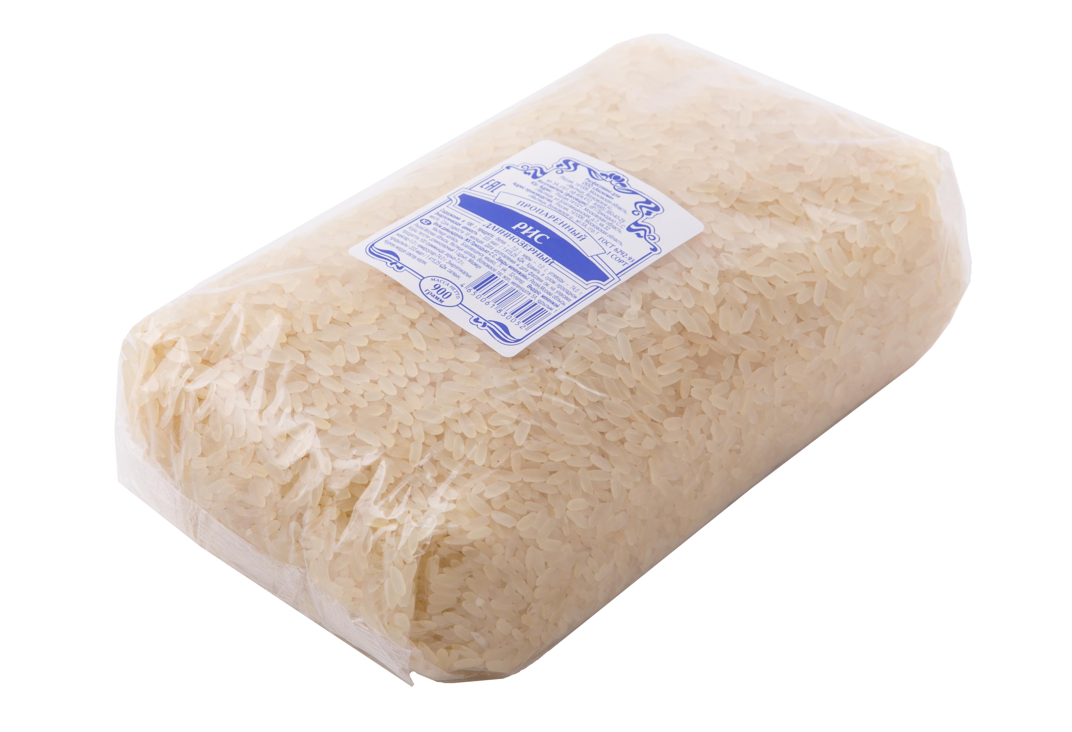 Рис пропаренный Аксиома