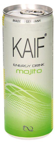 Напиток Мохито кофеиносодержащий со вкусом мяты и лайма Kaif
