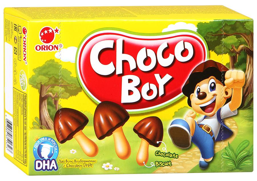 Печенье Choco-Boy Orion