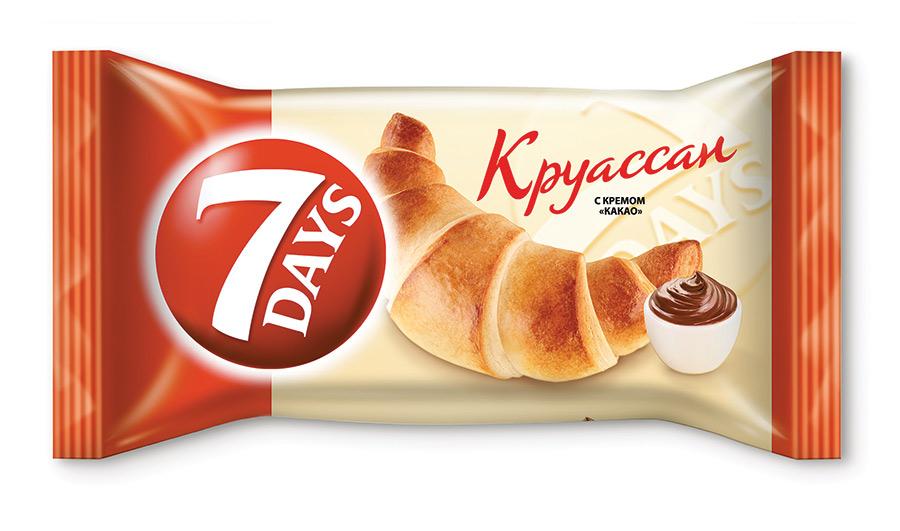 Круассан какао 7Days промо 3+1