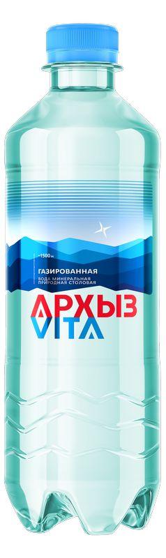Архыз Вода минеральная газированная 0.5 л Архыз недорого
