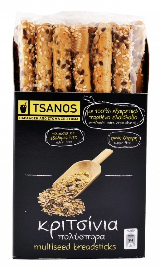 Хлебные палочки мультизерновые Tsanos