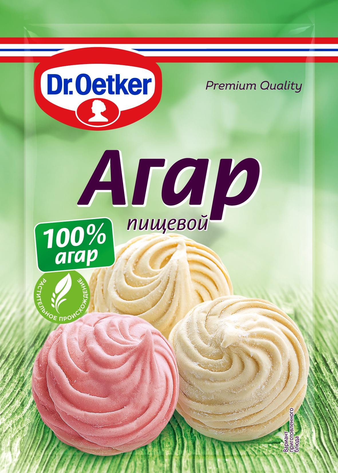 Агар пищевой Dr.Oetker