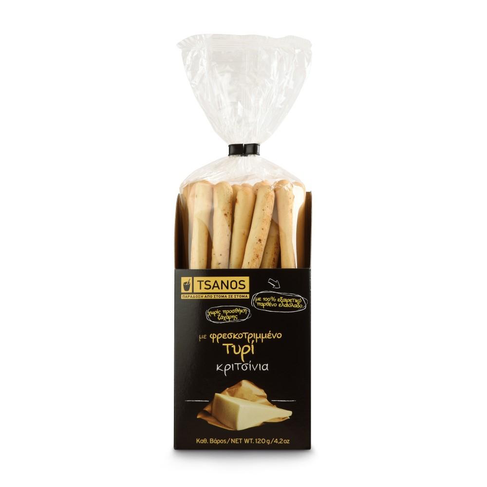 Хлебные палочки с сыром Tsanos