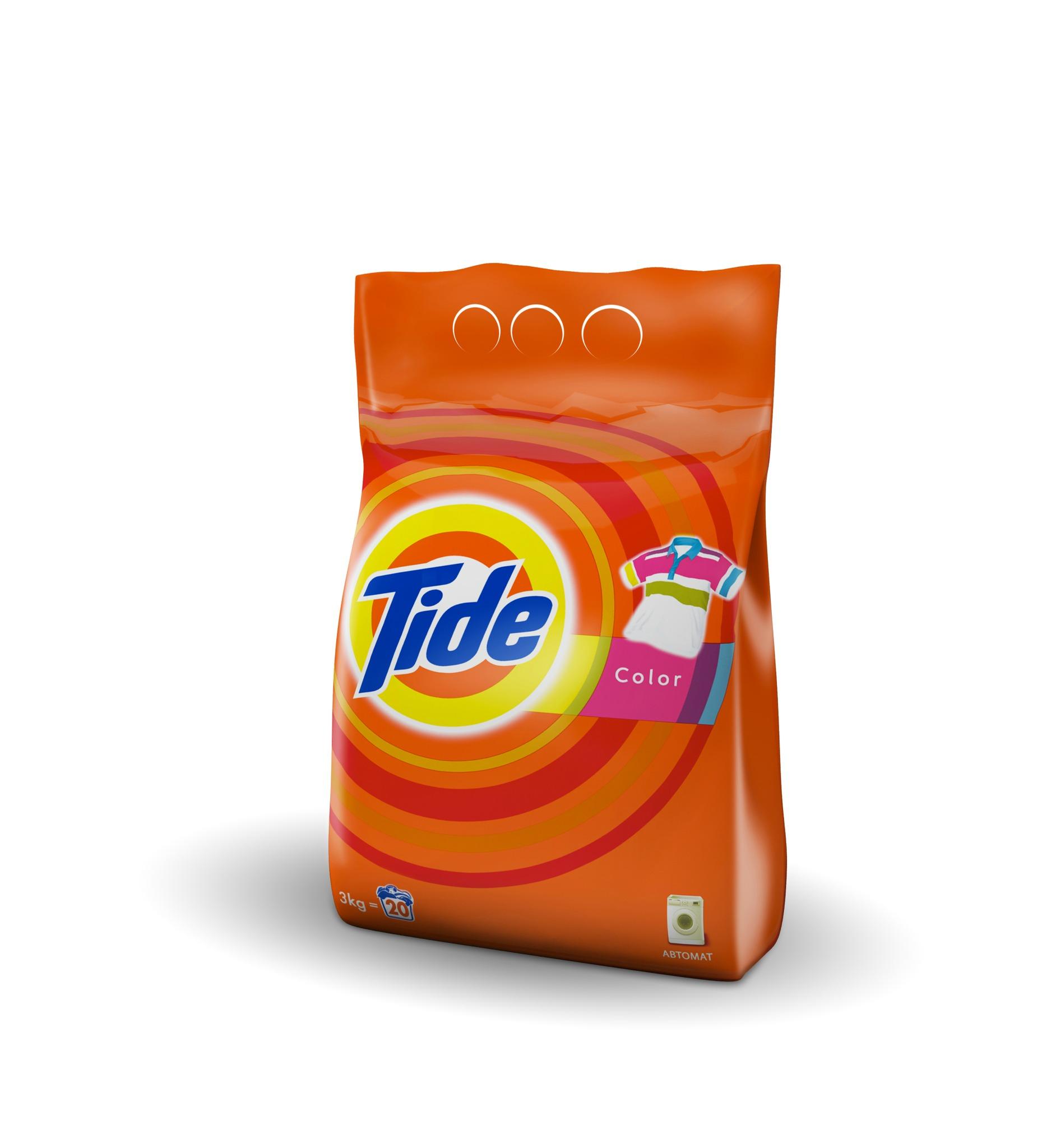 Тайд Порошок стиральный Автомат Color Tide