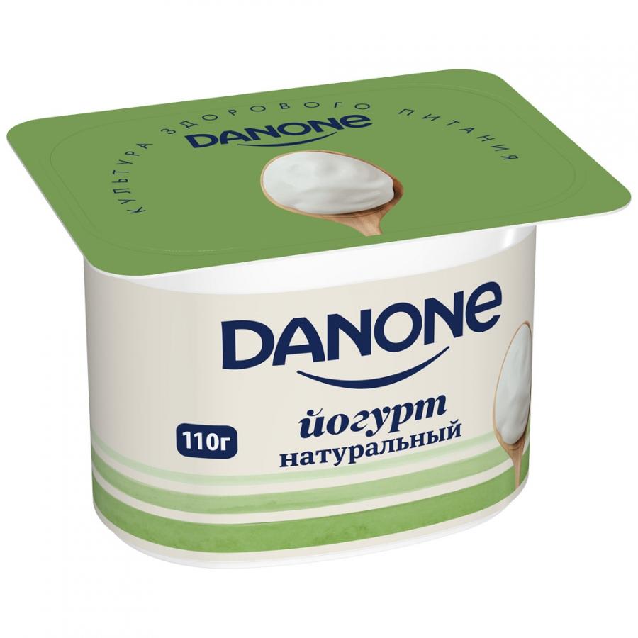 творог danone натуральный 5% 170 г Danone БЗМЖ Йогурт натуральный густой 3.3% 110 г Danone
