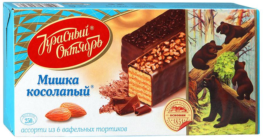 Торт Мишка Косолапый Красный Октябрь