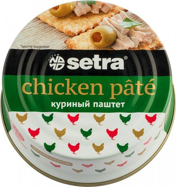 Паштет куриный SETRA