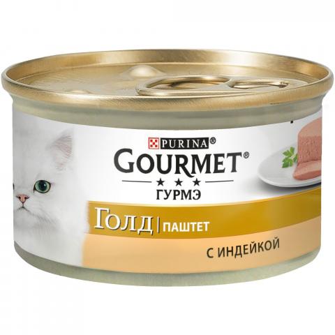 Фото - Gourmet Корм для кошек паштет с индейкой Gourmet Gold antonio sotos gourmet перец паприка красный молотый сладкий antonio sotos gourmet