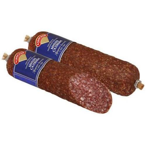 Фото - Клинский Продукт мясной Салями-мини 300 г Клинский колбаса alto мини салями острая 150 г