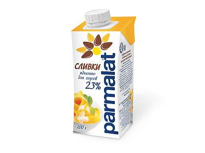 Без бренда БЗМЖ Сливки стерилизованные 23% Parmalat недорого