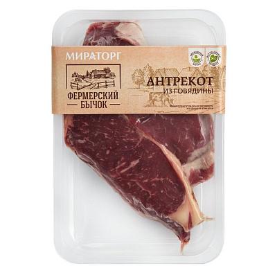 Мираторг Антрекот из говядины Фермерский бычок Мираторг