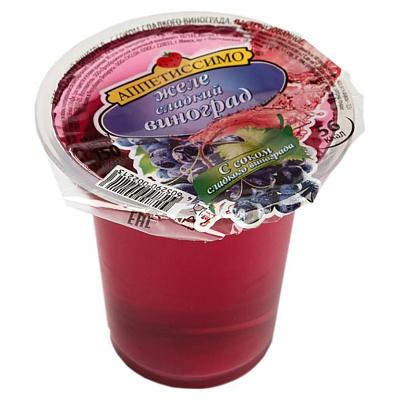 Фото - Аппетиссимо Желе Сладкий виноград с соком 150г желе аппетиссимо вишня 150 г