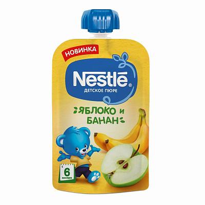 Nestle Пюре Nestle яблоко-банан, 90г