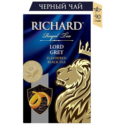Richard Чай Lord Grey черный крупнолистовой 90г Richard richard bell stolen