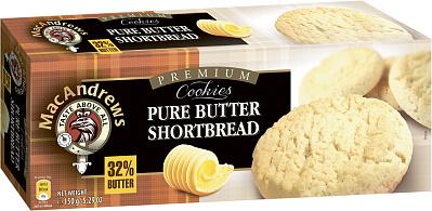 Без бренда Печенье песочное с натуральным сливочным маслом MacAndrew