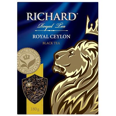 БЕЗ БРЭНДА Чай черный крупный лист Royal Ceylon Richard