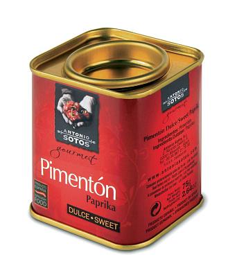 Antonio Sotos Gourmet Перец Паприка красный острый молотый Antonio Sotos Gourmet недорого