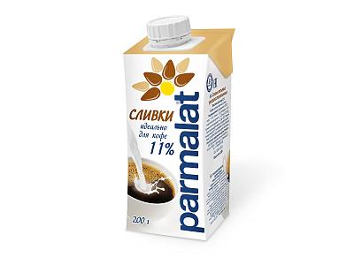 Без бренда БЗМЖ Сливки стерилизованные 11% Parmalat недорого