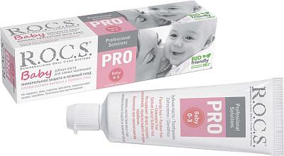 БЕЗ БРЭНДА Паста зубная Минеральная защита и нежный уход R.O.C.S. Pro Baby