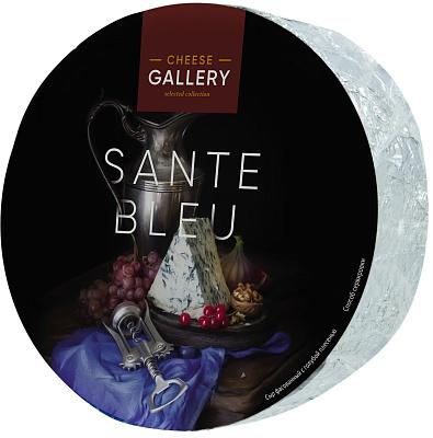 Чиз Галери Сыр с голубой плесенью Sante Blue 50% Cheese Gallery cheese gallery sante blue крем сыр 150 г