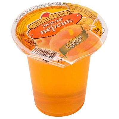 Фото - Аппетиссимо Желе Персик с соком 150г желе аппетиссимо вишня 150 г