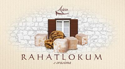 Adria Рахат лукум с грецким орехом Adria Хорватия