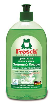 Фрош Средство для мытья посуды Лимон Frosch средство для мытья посуды herr klee лимон и ромашка 1 л