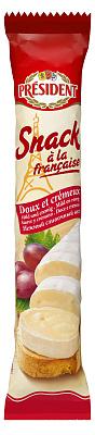 Фото - БЕЗ БРЭНДА БЗМЖ Сыр мягкий Snack a la Francaise 60% 170г м/у President без брэнда бзмж сыр твердый пармезан 40% laime