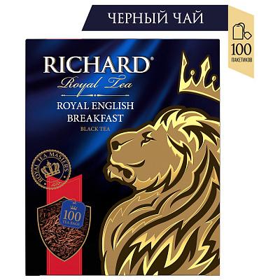 БЕЗ БРЭНДА Чай черный Royal English Breakfast 100 пакетиков Richard