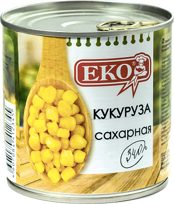 Фото - БЕЗ БРЭНДА Кукуруза Еко без брэнда айвар сладкий konex foods
