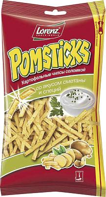 Лоренц Соломка Картофельная со сметаной соломка хрустящая со вкусом аджики 50 г