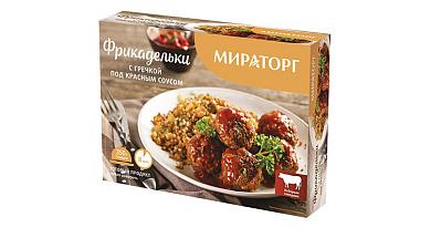 Мираторг Фрикадельки с гречкой под красным соусом Мираторг