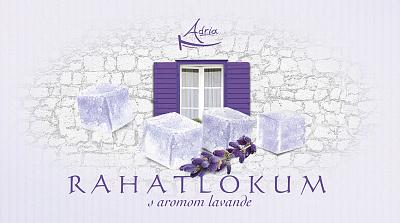 Adria Рахат лукум с ароматом лаванды Adria Хорватия
